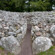 Stock Photo: Chambered cairn