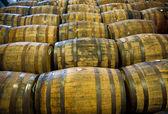 Whisky barrels — Stock Photo