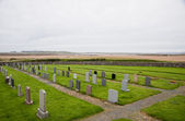 Islay cemetery — Stock Photo