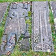 Kildalton burial slabs — Foto Stock