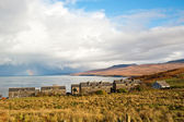 Islay houses — Stock Photo