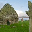 Kilnave church and cross — Stock Photo #4899843