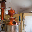 Stock Photo: Rum distillery