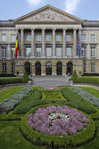 Belgian parliament building in Brussels — Stockfoto