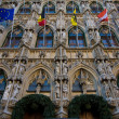 Gothic town hall of Leuven — Stock Photo