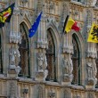 Gothic town hall of Leuven in Belgium — Stock Photo