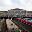 Hamburg Hauptbahnhof — Stock Photo
