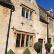 Stock Photo: Typical Cotswolds houses in Chipping Camden, Gloucestershire