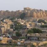 Skyline of Jaisalmer — Stock Photo