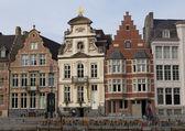 Korenlei in Ghent — Stock Photo