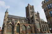 Saint Nicholas' Church, Ghent — Stock Photo