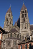 Cathedral of Our Lady in Tournai — Stock Photo