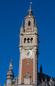 Tower of the chambre de commerce in Lille — Stock Photo