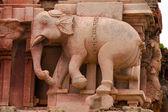 Elephant bas relief — Stock Photo