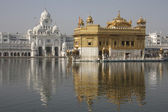Golden temple in Amritsar — Stock Photo
