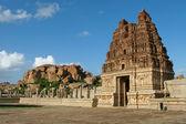 Vittala chrám v hampi — Stock fotografie