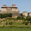 Castello di Torrechiara near Parma, Italy — Stock Photo
