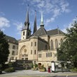 Notre Dame cathedral of Luxemburg — Stock Photo #4185941