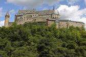 Vianden castle in Luxembourg — Stock Photo
