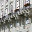 Balcony at the Hofburg - Stock Photo