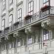 Balcony at the Hofburg — Stock Photo