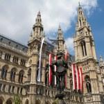 Vienna City Hall — Stock Photo #4191058