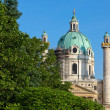 Karlskirche in Vienna — Stock Photo