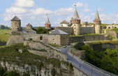 Castle of Kamyanets-Podilsky — Stock Photo