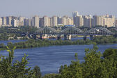 Skyline of Kiev — Stock Photo