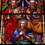 Постер, плакат: Holy Trinity and Maria