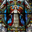 Angel - church window - Stock Photo