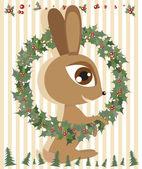 Tavşan — Stok Vektör