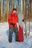 Snowboarder — Photo