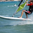 Windsurfing on the move — Stock Photo #4545841
