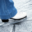 Skate on ice — Stock Photo
