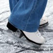 Skate on ice — Stock Photo #4903610
