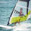 Windsurfing on the move — Stock Photo #4933639