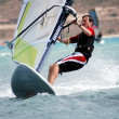 Windsurfing on the move — Stock Photo #4933645