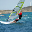 Windsurfing on the move — Stock Photo #4933652