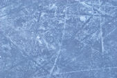 Ice rink with snow texture — Stock Photo