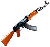 AK-47 — Stock Vector