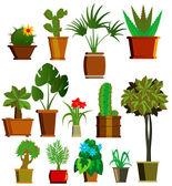 Plants Vector — Stock Vector