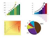 Graph — Stock Vector