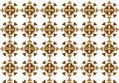 Brown bronze background — Stok Vektör