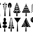 Trees — Vector de stock #4354219