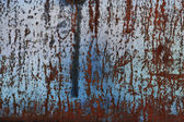 Corrosion, metal, wall; dirty; backgrounds; old; textured — Stock Photo