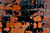 Wall; brick; strength; dirty; backgrounds; — Stock Photo