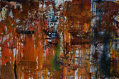 Corrosion; metal; wall; dirty; backgrounds; old — Stock Photo