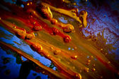 Dab, painting, color — Stock Photo