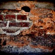 Wall; brick; dirty; backgrounds; old; textured — Stock Photo